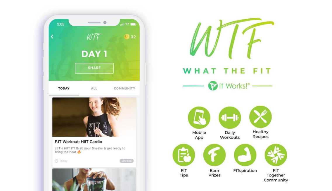 Get Your WTF APP For Free!